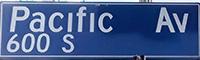 Pacific Av Sign